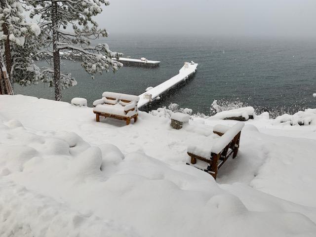Dock in Snow