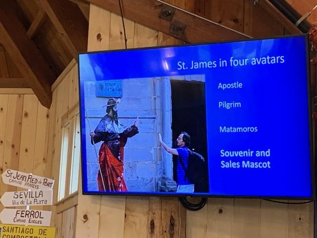 St. James as Avatar